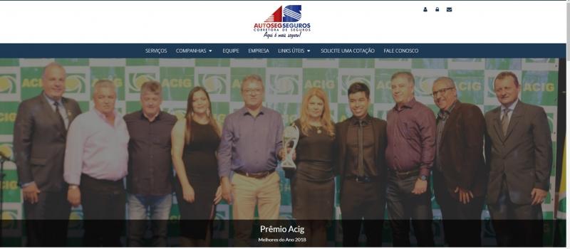 Autoseg Corretora de Seguros contrata a equipe da Secondata web sistemas e publica novo site confira!